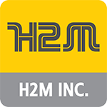 H2M Inc. Demolition & Construction Logo